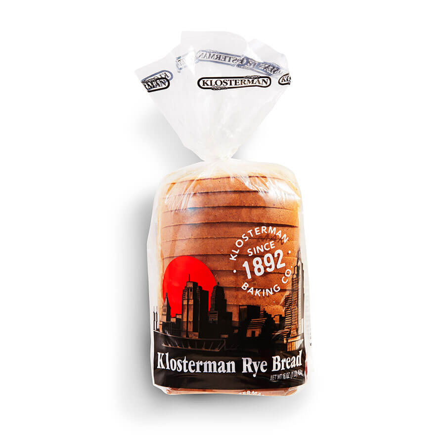 Klosterman Light Rye Bread 16 oz