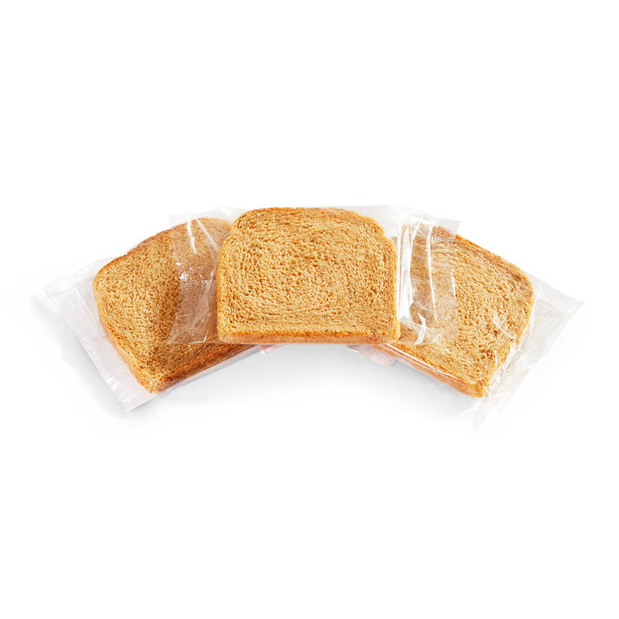 Individually Wrapped Rye Bread Slices