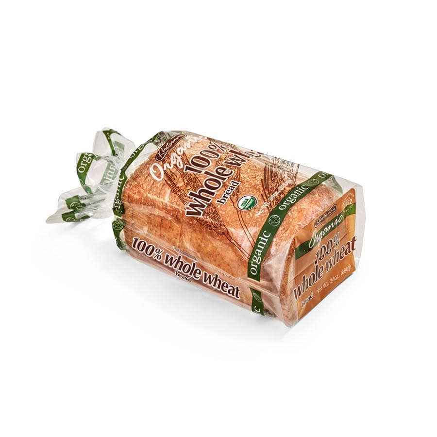 Klosterman Organic 22 oz 100% Whole Wheat Bread
