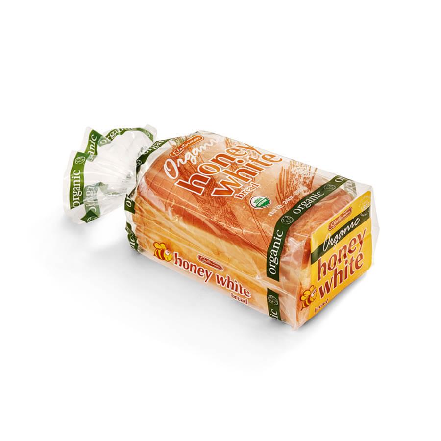Klosterman Organic 22 oz Honey White Bread