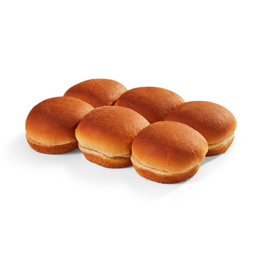 "Small 3.25"" Whole Grain Rich Hamburger Buns"