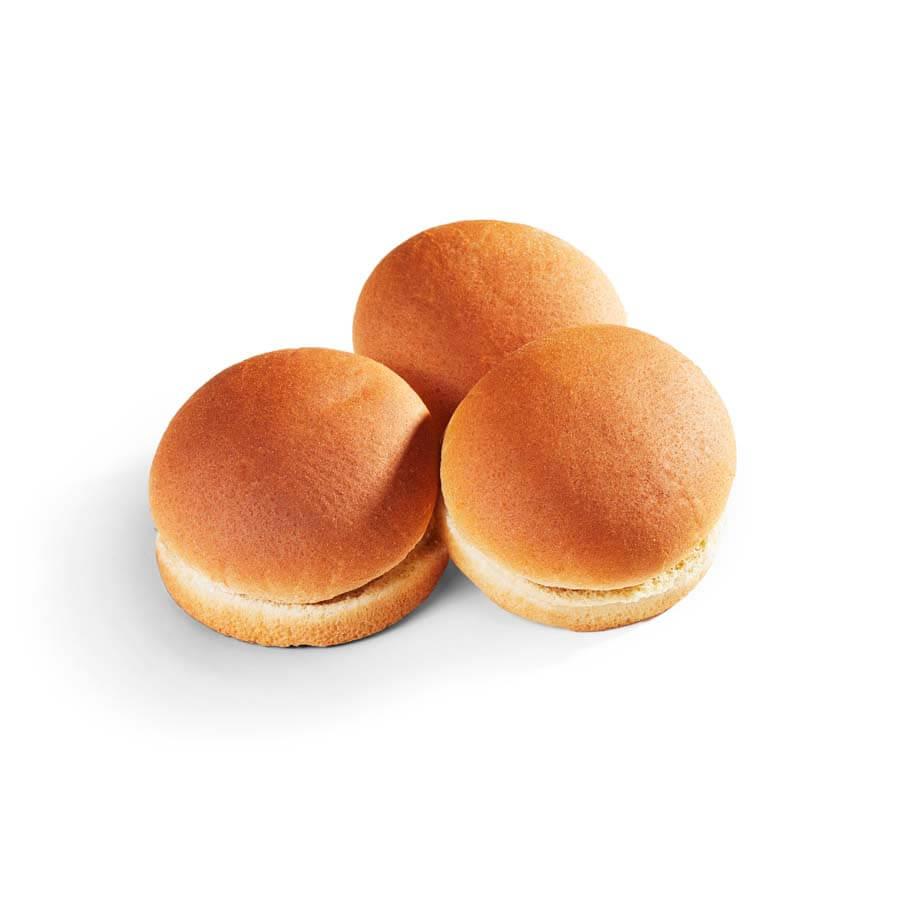 Whole Grain 3.5 in Hamburger Buns - 12 Pk