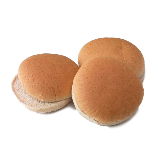 Wheat Hambuger Bun 4 in