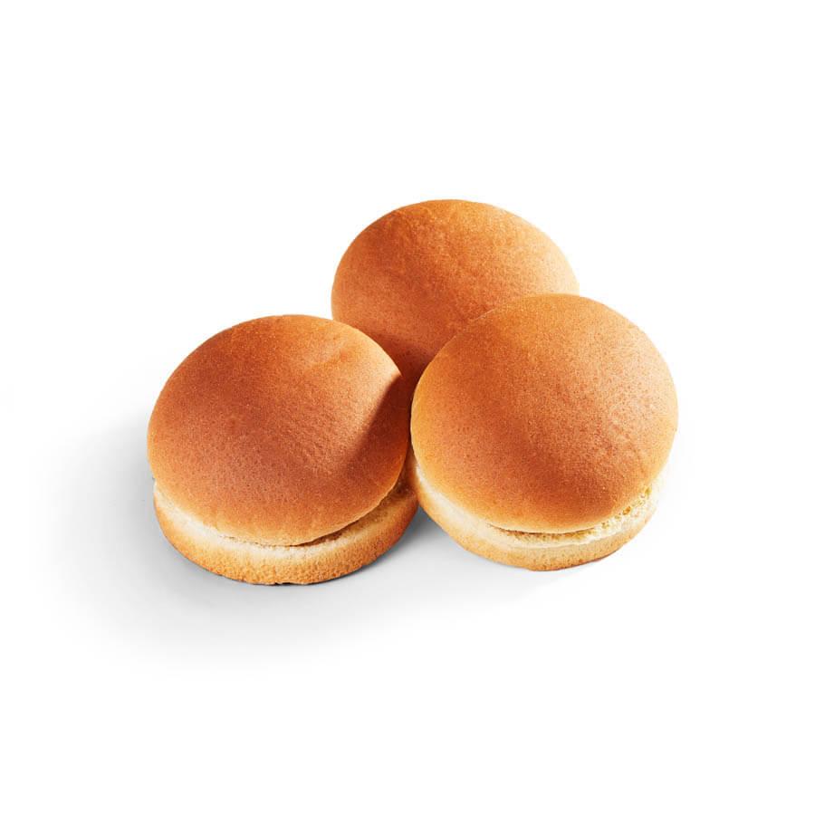"4"" Whole Grain Rich Hamburger Bun - Bulk Pack 60 ct"