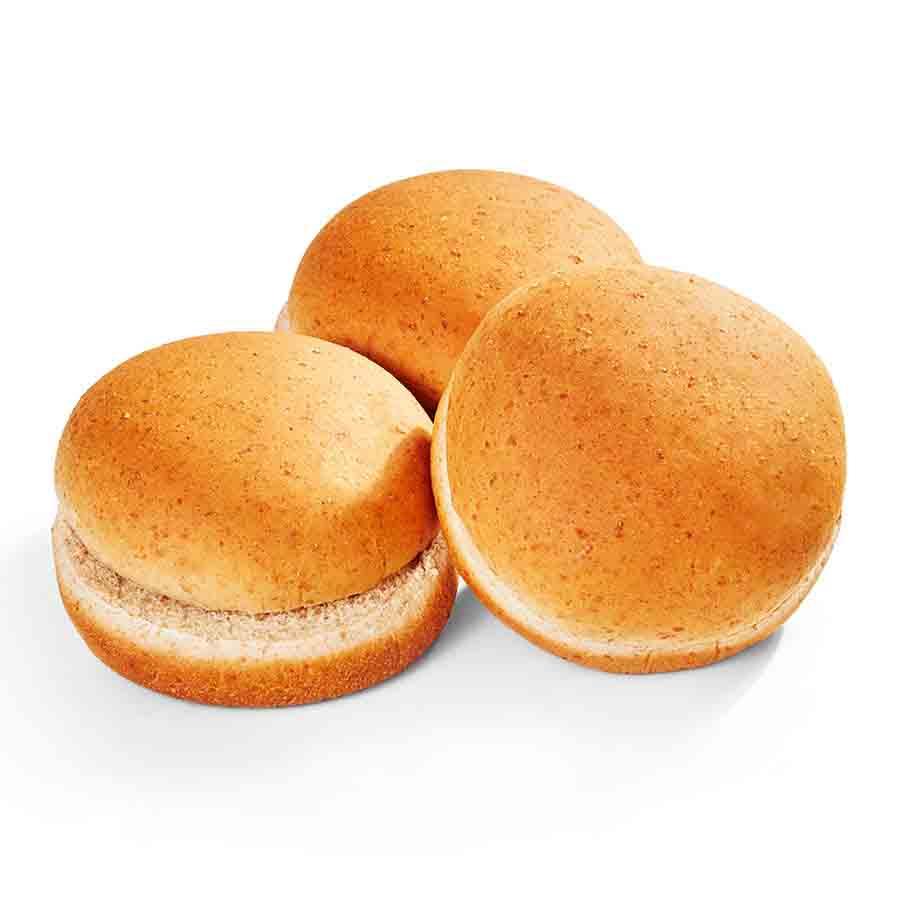 100% Whole Wheat Hamburger Bun
