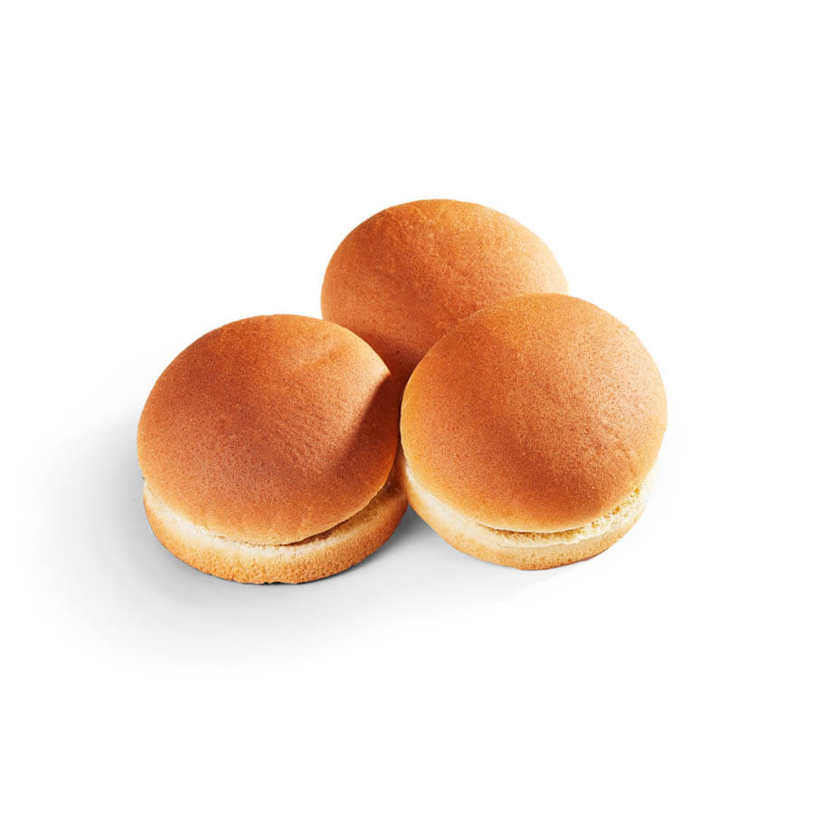 """Whole Grain Rich 4"""" Hamburger Bun - 12 ct"""