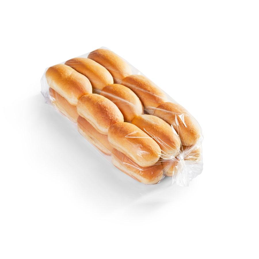 "4.75"" Whole Grain Small Hot Dog (Coney) Bun"