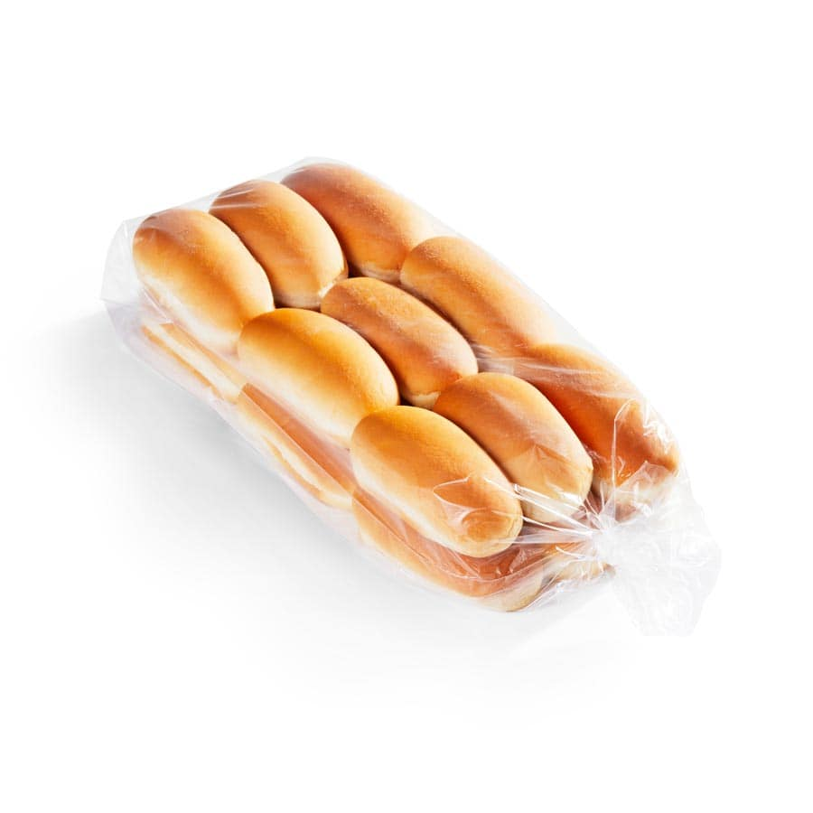 Small Hot Dog Buns (Coney Buns) 4.75 in 18 pk