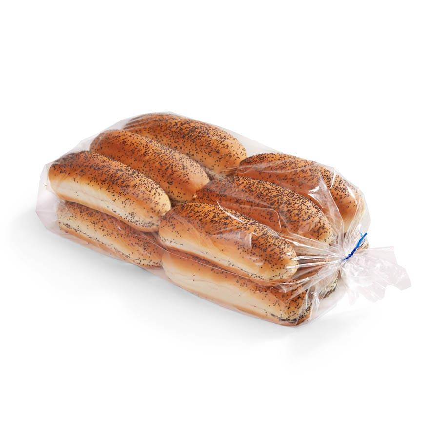 poppy seed hot dog buns